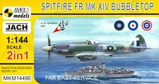 Mark I Models 1/144 SPITFIRE Mk.XIV BUBBLETOP Far East Service 2-in-1 Double Kit