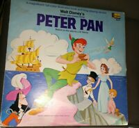 WALT DISNEY'S PETER PAN 1969 Disneyland 3910 Storybook record
