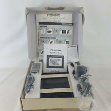 pandigital 7 inch LCD photo frame good condition in original box accessories