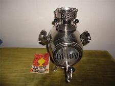 Old Vintage Russian CAMOBAP Camara Samovar Chrome Liquor Dispenser Hot Drinks