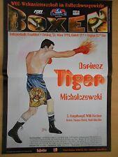 DARIUSZ MICHALCZEWSKI  -  WM WBO - FRANKFURT - orig. Poster - Plakat  A1