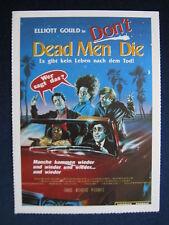 Filmplakatkarte videoplus  Dead Men Don't Die  Elliott Gould