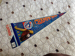 1993 Toronto Blue Jays World Series Champions MLB Pennant  orignial packing