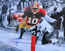 "Robert Griffin III RG3 Signed Washington Redskins ""The Dive"" 16x20 Photo JSA"