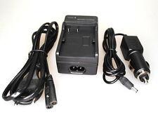 Ladegerät für CANON EOS 450D 500D 1000D - LP-E5 Charger Auto KFZ 12V 220V 1000 D