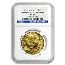 2010 1 oz Gold Buffalo MS-70 NGC (Early Releases) - SKU #60651