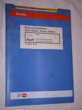Golf 3 GTI 16V Reparaturhandbuch ABF Motor+Zylinderkopf+Zahnriemen+Einspritzung+