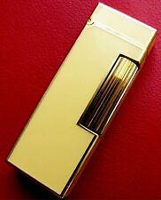 Dunhill Gas-Feuerzeug aus den 70er Jahren Gold & China Lack