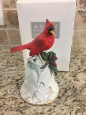Avon Cardinal and Flower Bell - Porcelain