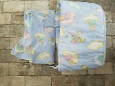 Precious Moments Nursery Crib Bumper Crib sheet baby bedding blue