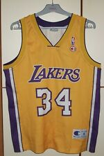 Vintage Champion Los Angeles Lakers NBA Jersey size S #34 O'Neal