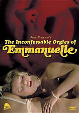INCONFESSABLE ORGIES OF EMMANUELLE - DVD - Region 1 - Sealed