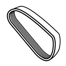 Ribbed Belt For Berkel Slicer - Berkel Part# 829-00066