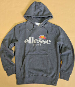 ellesse Men Fleece Pullover Hoodie size L New with Defects