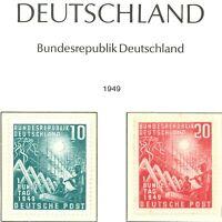 BRD / Bund Sammlung 1949-1988 ** postfrisch im Leuchtturm SF Vordruckalbum