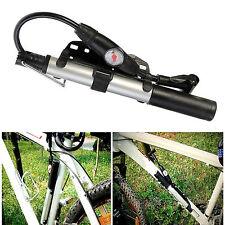 Fahrrad Luftpumpe Manometer Ventile AV/SV/DV pumpt bei Ziehen Drücken Minipumpe