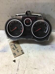 Vauxhall Corsa D 2008 Speedo Clock Dial EQ 1303304
