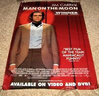 MAN ON THE MOON Movie Poster Jim Carrey Paul Giamatti Courtney Love Peter Bonerz