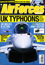 AIRFORCES MONTHLY 315 JUN 2014 Typhoon,Mirage F1CR,USAF 12,Pakistan AA,Macedonia