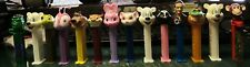 PEZ - Large Group Of 14 PEZ DISPENSERS - See Photos