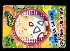PROMO POKEMON BANDAI STICKER 1999 ORANGE ISLANDS #06 TOGEPI