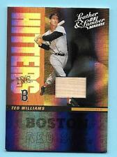 2005 Donruss Leather and LumberTed Williams Game Bat Red Sox  43/50