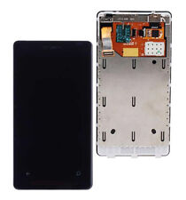 For nokia lumia 800 lcd display touch digitizer screen lcd assembly with frame