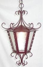 LANTERNA LAMPIONE IMPERIAL IN FERRO BATTUTO LAMPADE LAMPIONI APPLIQUE LANTERNE