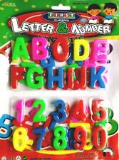 Kids Learning Teaching Toy 52 MAGNETIC LETTERS & NUMBERS Fridge Magnet Alphabets