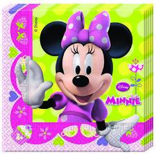 Disney Minnie Mouse 20 Stück Servietten 33x33cm Kinder Geburtstag Partygeschirr