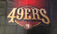 San Francisco 49ers Flag 3X5 Man Cave Banner No Drop Ship Fast Ship USA Seller