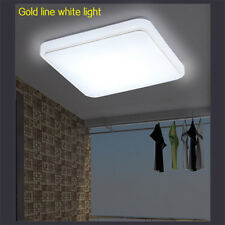 Bright Square LED Ceiling Down Light Panel Wall Bathroom Kitchen Cool White Lamp