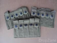 Original WWII US Army Military Thompson MG Ammo Magazine Pouch Webbing