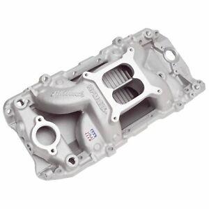 Edelbrock 7561 RPM Air-Gap Big Block Chevy 2-O Intake Manifold