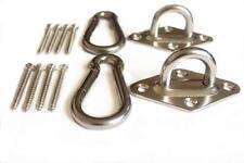 1000Lb Heavy Duty Hanging Kit Ultra Durable Carabiners Hammock Ceiling Hooks M8