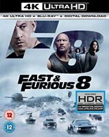 FAST and FURIOUS 8 4K UHDBLU RAYDIGITAL [DVD]