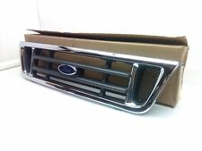 NEW 2004 2005 2006 2007 FORD E-350 SUPER DUTY FRONT GRILLE CHROME GRAY INSERT