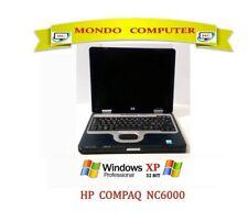 COMPUTER PORTATILE HP NC6000 CPU INTEL PENTIUM  1.60 GHZ  WINDOWS XP PRO LICENZA
