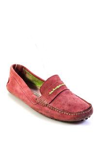 Manolo Blahnik Womens Slide On Moccasin Loafers Pink Size 7