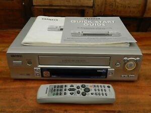 Aiwa HV-FX710 Video Cassette Tape Player / Recorder VCR with Remote NTSC PAL