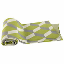"""Cotton Cashmere-Like Throw Blanket 50x60"""" Green - T37582Gree"""