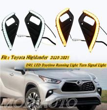 For TOYOTA Highlander 2020-21 LED Daytime running Light DRL Bumper Fog Lamp
