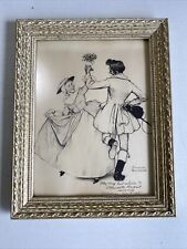 Norman Rockwell Signed Autograph Picture