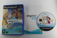 PLAY STATION 2 PS2 SINGSTAR PARTY COMPLETO PAL ESPAÑA