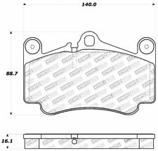 Disc Brake Pad Set-4WD Rear,Front Stoptech 309.07850
