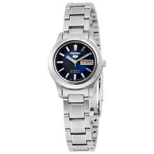 Seiko 5 Automatic Blue Dial Stainless Steel Ladies Watch SYMD93