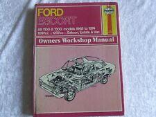 FORD ESCORT MK1 1968 ~ 1974 HAYNES SERVICE WORKSHOP REPAIR MANUAL 171