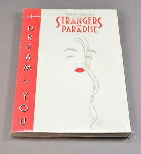 """Terry Moore's Strangers in Paradise """"I Dream of You"""" trade paperback!"""