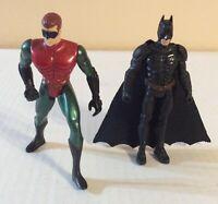 """Batman & Robin 4"""" Action Figures Mattel DC Comics"""