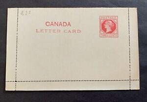 Canada 🇨🇦 18? - unused postal stationery letter card
